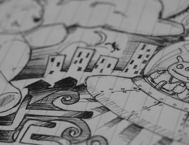 Il quartiere Primavalle a fumetti con P.arch